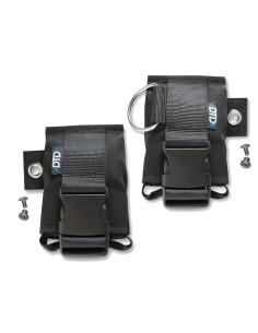Bolsillos DTD porta lastre de backplate verticales