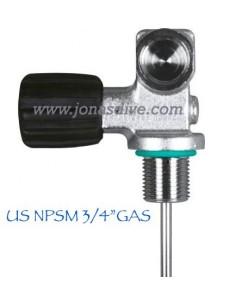 "Mono Valve US 3/4"" GAS NPSM"