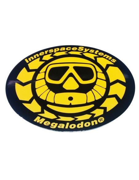 Pegatina Logo Meg grande