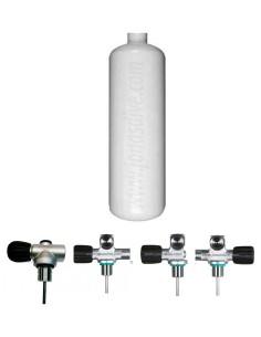 Botella Acero 3 litros, 114mm, Eurocylinders