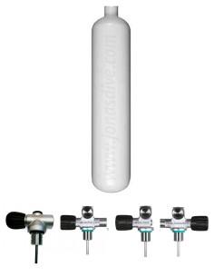 Botella Acero 3 litros 100mm, Eurocylinders
