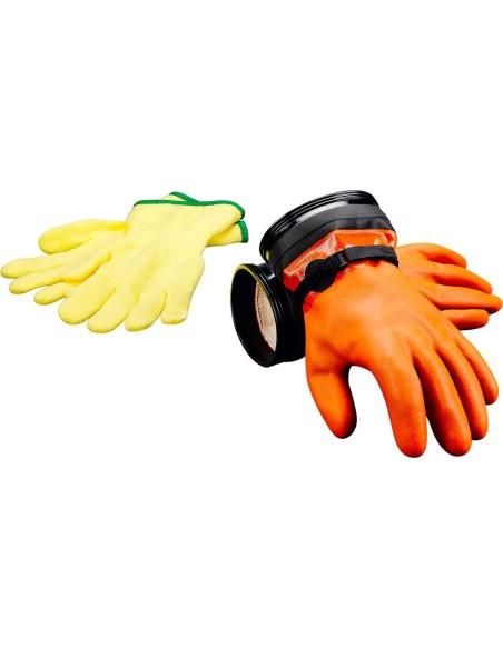 DUI Zip Seal Gloves - Max. Movilidad