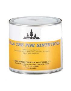 Cola adhesiva de Poliuretano TRE PINI, 400gr