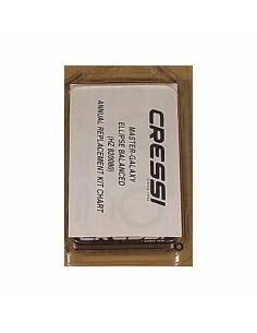Cressi kit mantenimiento 2ªetapa ELLIPSE/GALAXY/MASTER