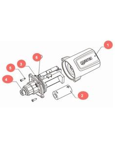 Mares Kit Batería Transmisor Net Ready