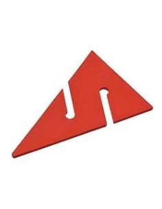 Flecha peque roja