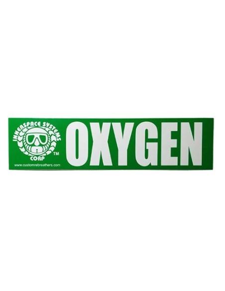 Pegatina identificativa MEG OXY